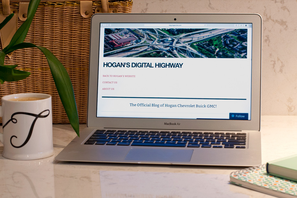 Hogan's Digital Highway Front Page Photo