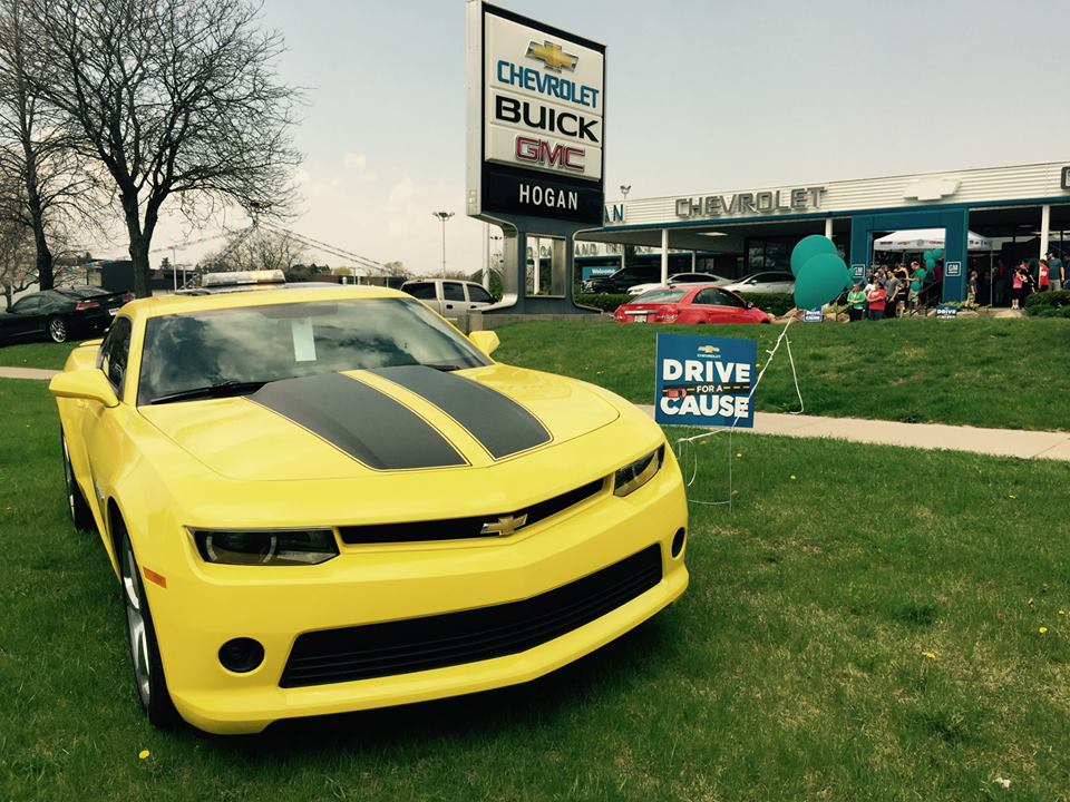 Drive for a Cause Event at Hogan Chev