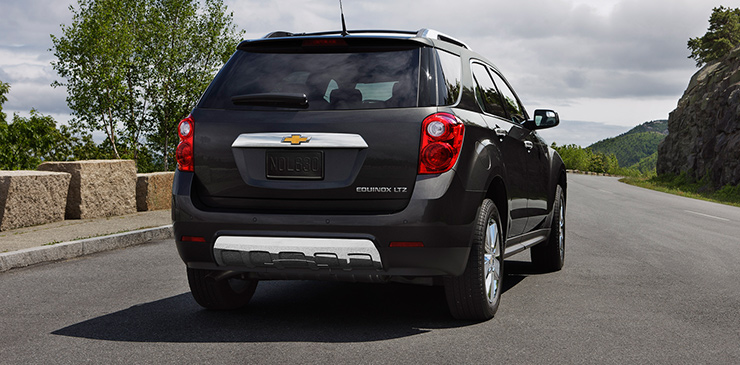 Rear of 2015 Chevrolet Equinox