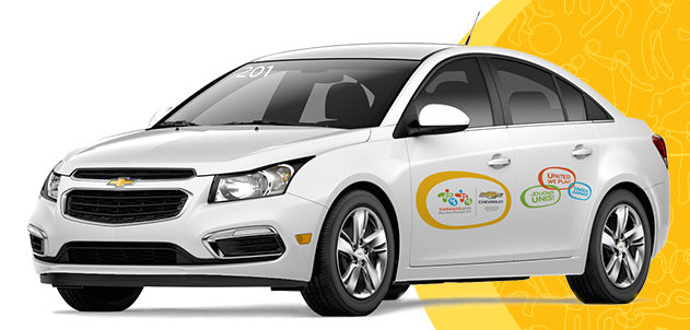 Photo of Chevrolet vehicle for Pan Am Games 2015