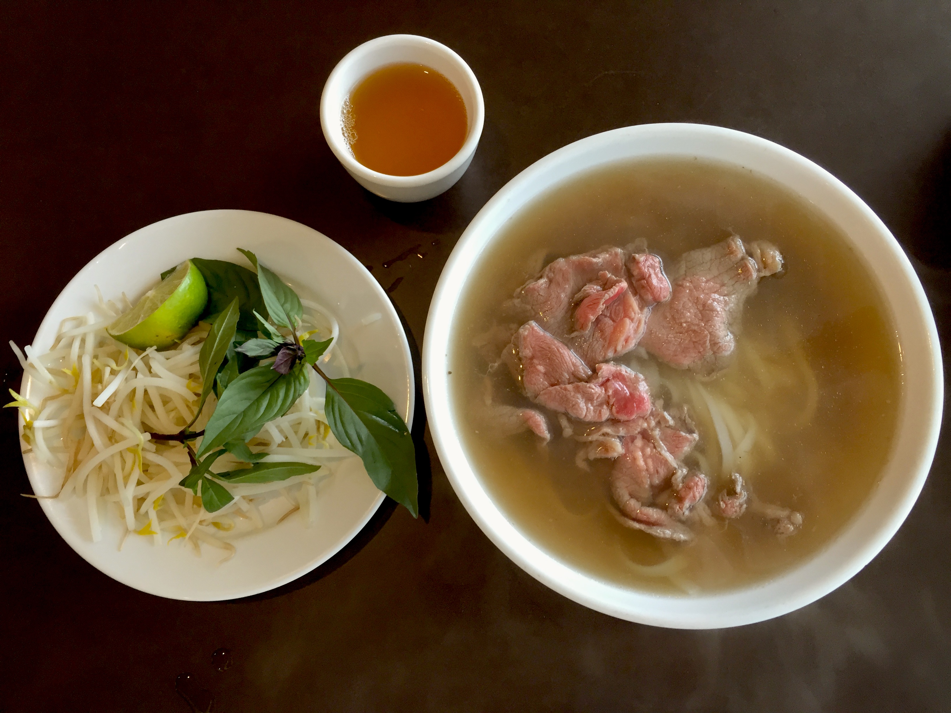 Photo of Rare Beef Pho soup