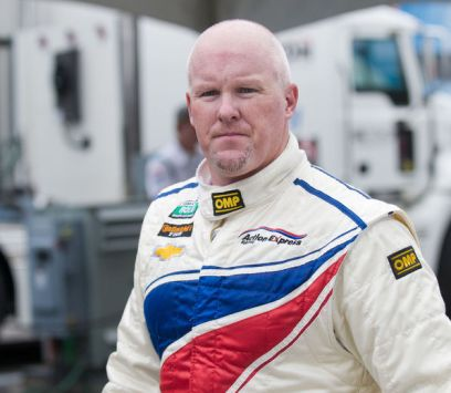 Photo of Paul Tracy in racing gear