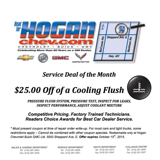 201509 Service Deal of the Month